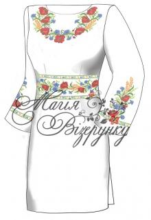 Продается недорого габардиновая заготовка платья под вышивку