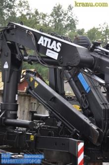 Гарантия производителя - кран манипулятор Атлас в Украине