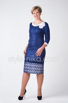 Женские нарядные платья больших размеров опт