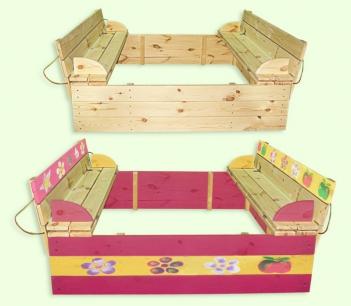 Покупайте качественные и надежные детские песочницы в Киеве