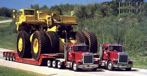Транспортування негабаритних вантажів у будь-яку точку України