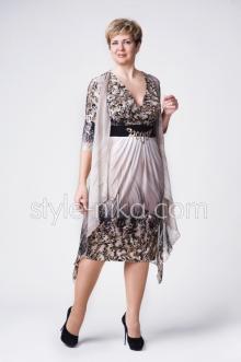 Сшить женское платье на большие размеры