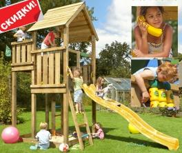 Реалізуємо якісні дитячі гірки для будинку