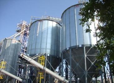 Швидке будівництво силосів для зберігання зерна