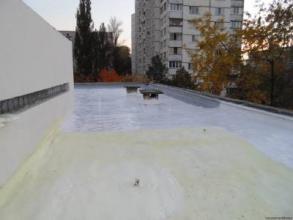Гидроизоляция плоской кровли в Украине