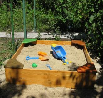 Изготавливаем детские песочницы в Киеве