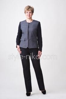 Вигідно! Жіночі ділові костюми великих розмірів оптом! - Оголошення ... 71811a145da82