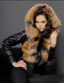 Жіночі шкіряні куртки з хутром (Україна) - Оголошення - Купити ... 98ba3b38256be