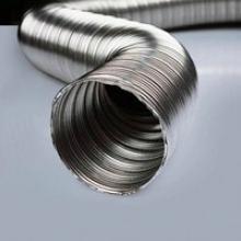 Пропонуємо гофрований димар з нержавіючої сталі. Доступна ціна!