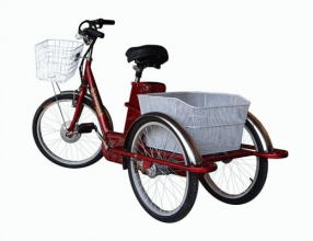 Трехколесный велосипед для взрослых - удобный и экономичный!
