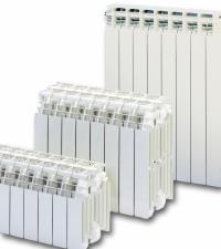 Низькі алюмінієві радіатори Global GL 200/180