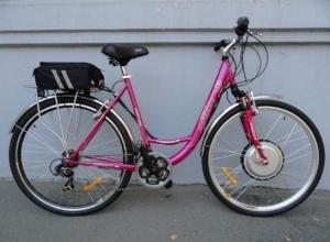 Електровелосипед жіночий, ціна - чудова!