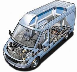 Запчасти для микроавтобусов в Украине