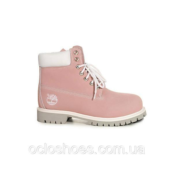 Купить Женские ботинки Timberland розовые Украина - Фотогалерея ... 4e15ed99d3dc8