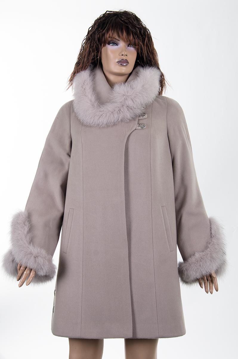 Теплое зимнее светлое пальто (Украина). Просмотр. Фото из альбома «Пальто  оптом от производителя ... 18d897aefa645