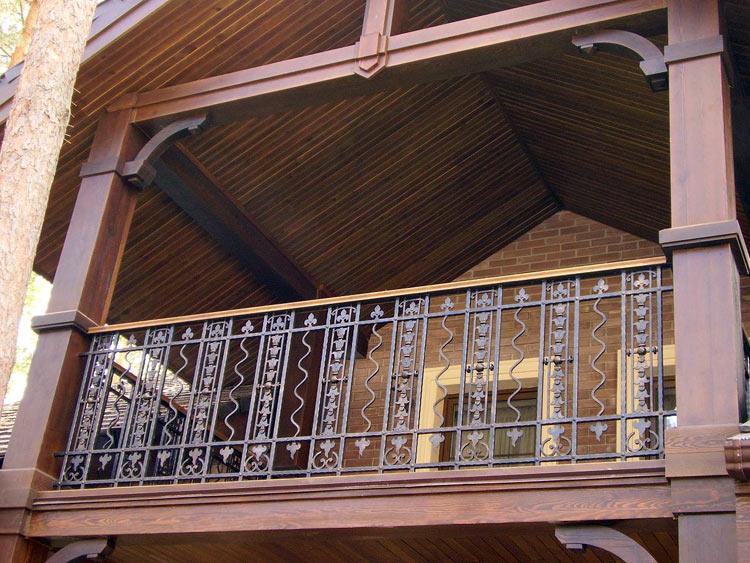 """Кованые балконы """" страница 4."""