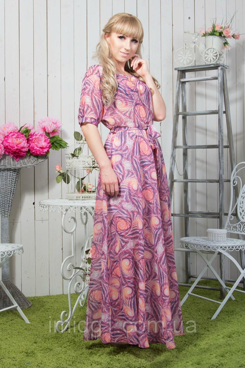 5954ff8e314 Длинное летнее платье в пол