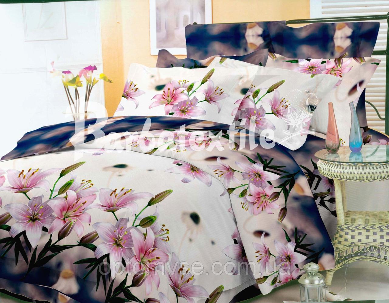 Двуспальное постельное белье 3d - цветы лилии - Асортимент ... 8eb2aef7011cf