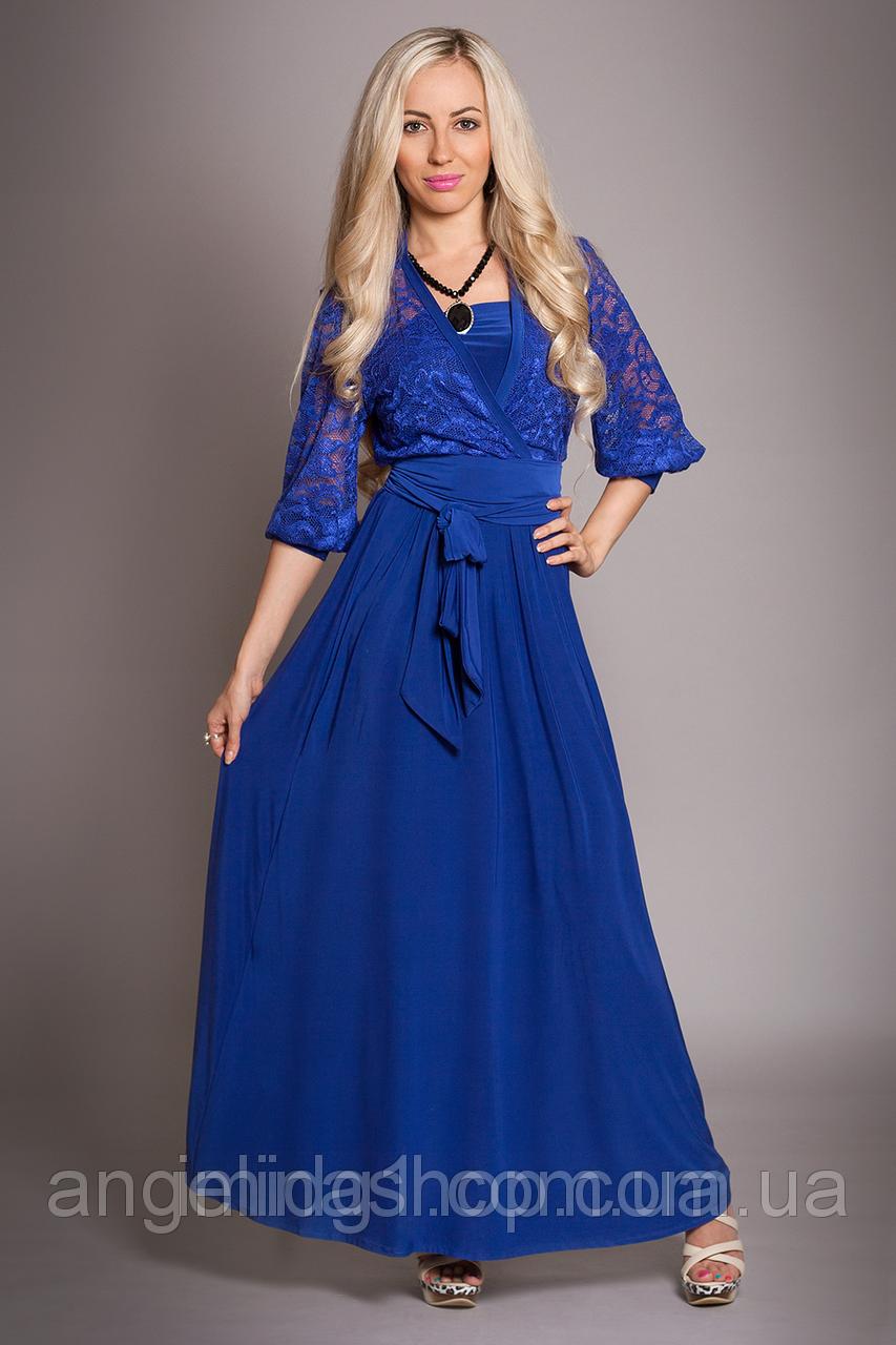 4081fff37bb Длинное синее платье купить Украина - Фотогалерея стильной одежды ...