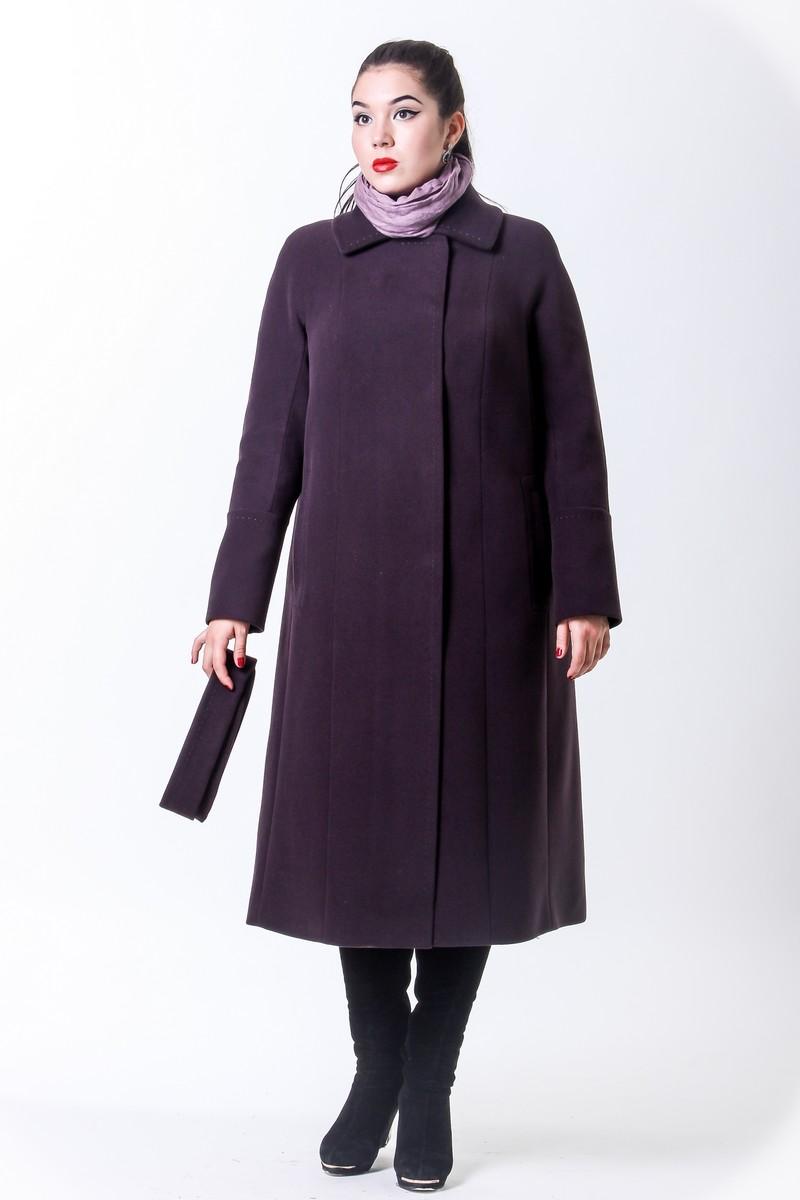 Демисезонное женское пальто прямого кроя - Фотогалерея одежды ... b204133a369d0
