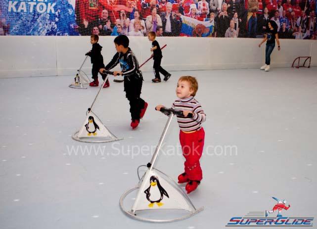 Искусственный лед своими руками для детей
