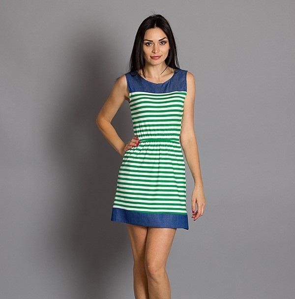 Летнее платье в полоску купить   Літнє плаття в полоску купити ... 8f8d6fde7fa41