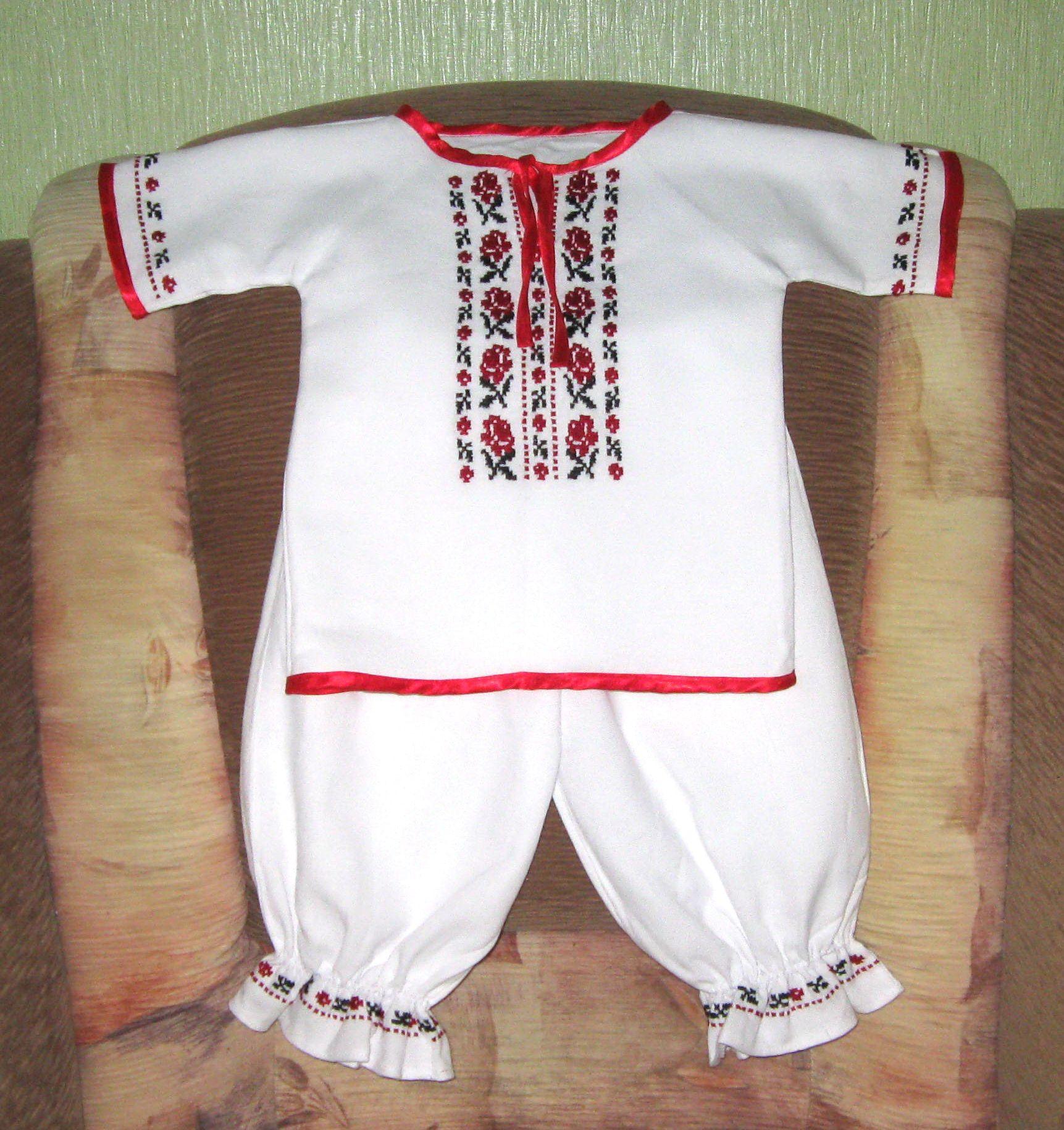 Вишиванки для немовлят - Фотогалерея - Вишиванки ручної роботи від ... c0aec90472f03