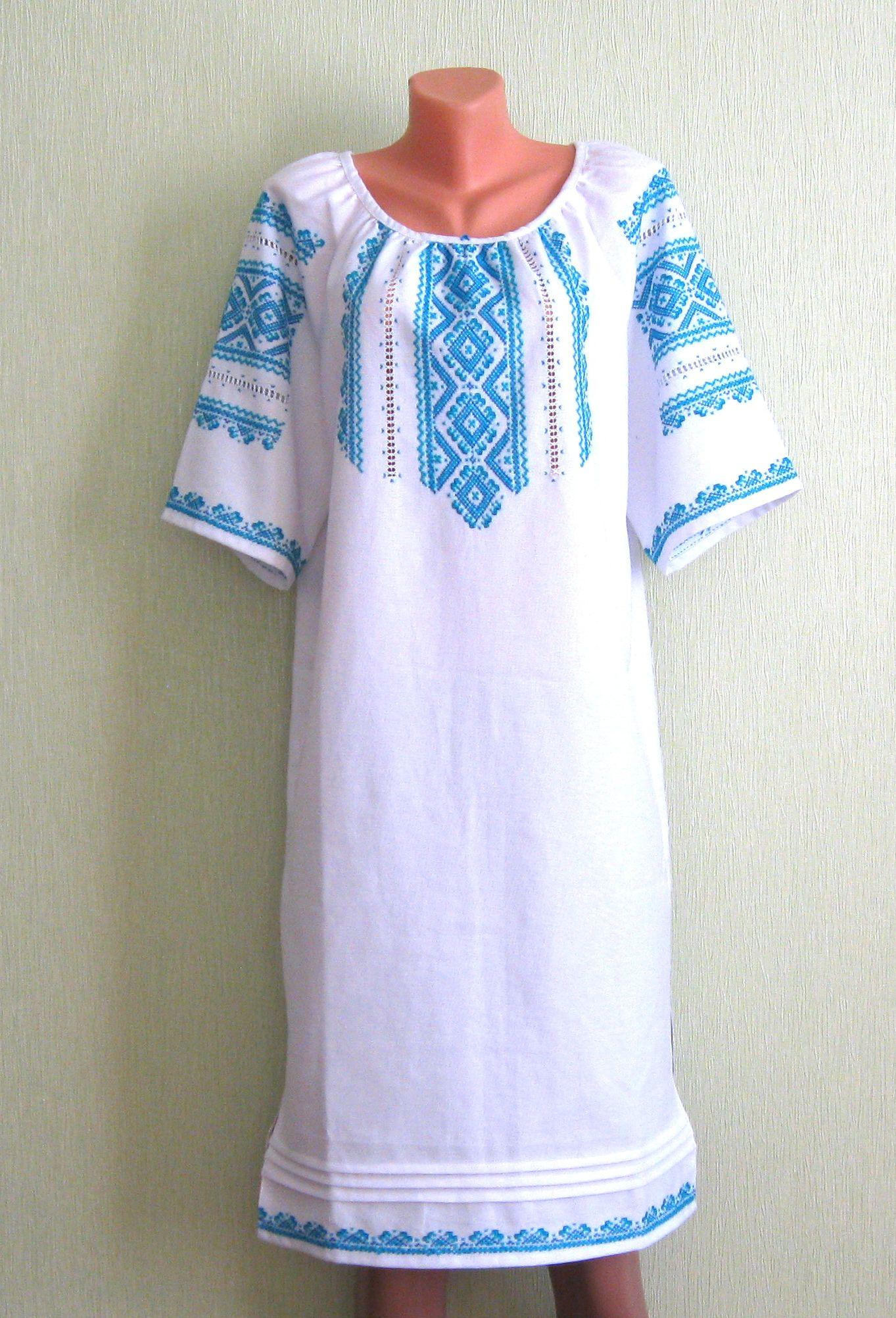 Вишиванки жіночі (плаття) - Фотогалерея - Вишиванки ручної роботи ... 3502f8b91e837