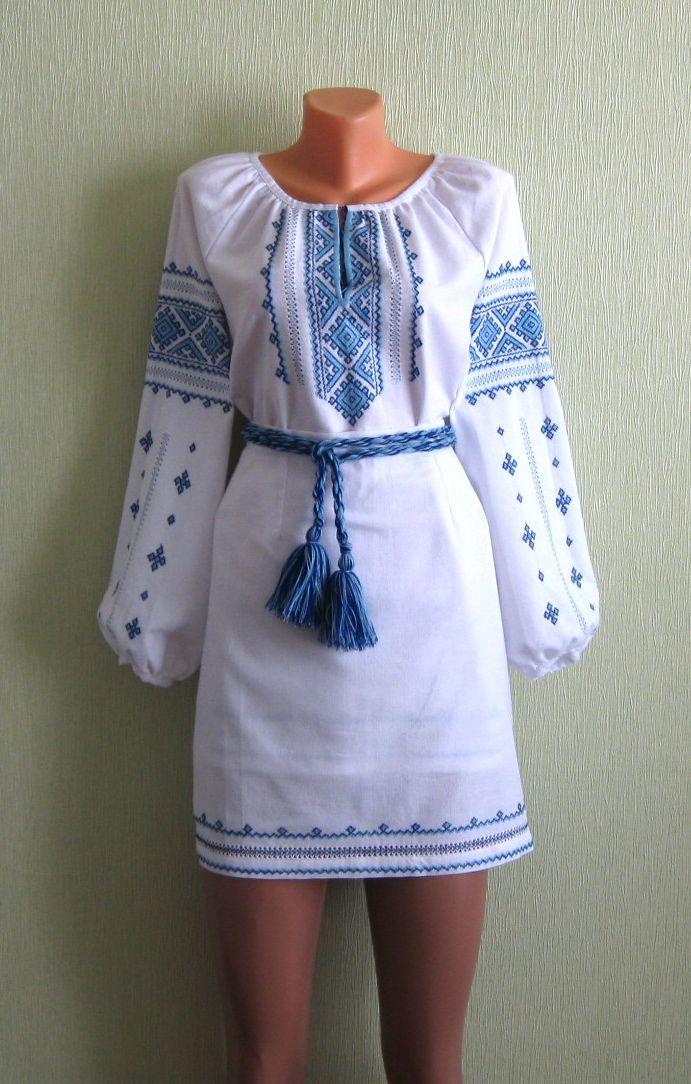 Плаття жіноче вишите (вишиванки жіночі) - Фотогалерея - Вишиванки ... 559f5b091b5e4