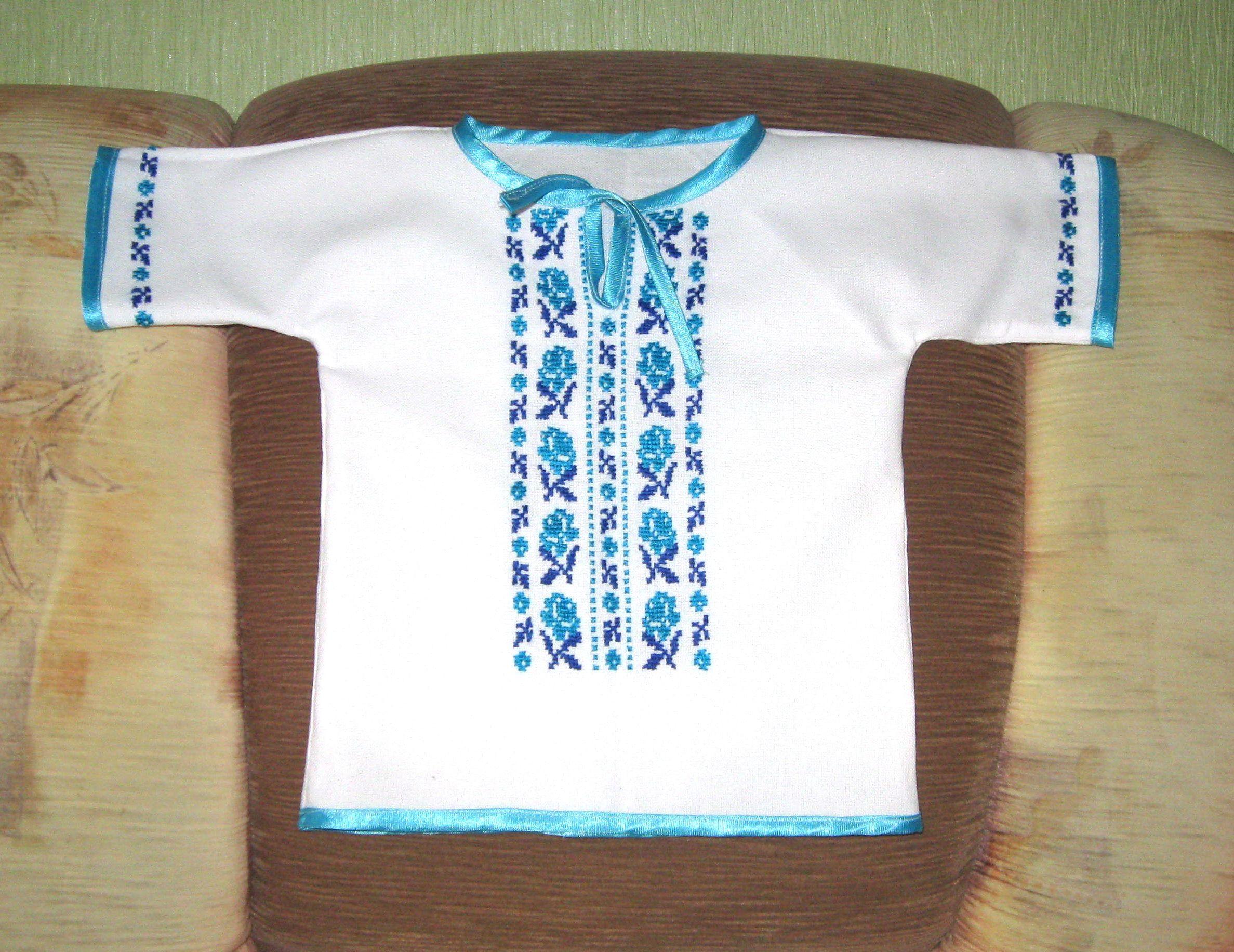 Дитячі вишиті сорочки - Фотогалерея - Вишиванки ручної роботи від ... 1fee542fa6151