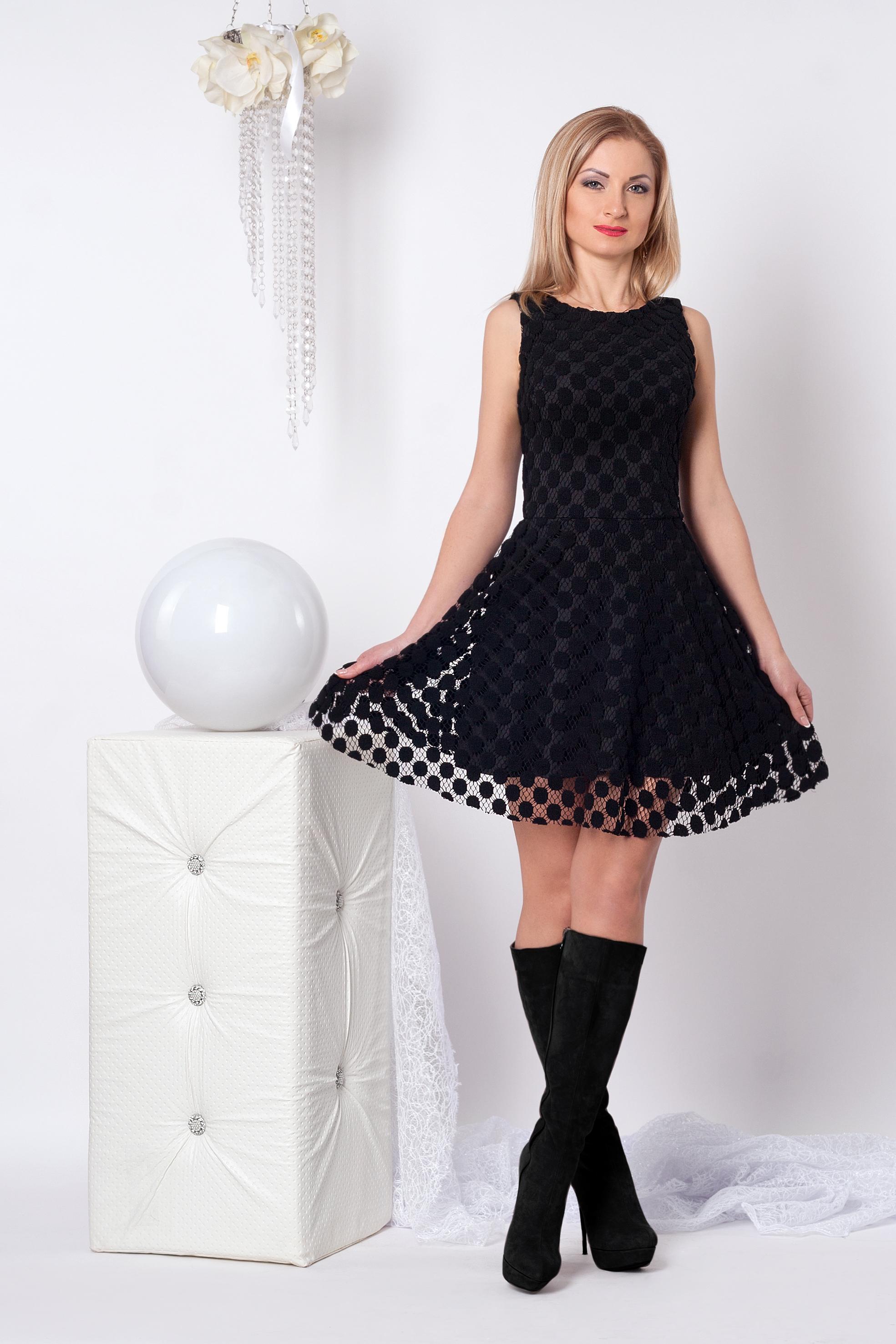 Нарядное женское платье 966 - Фотогалерея стильной одежды - Купити ... 0155a7542ed33