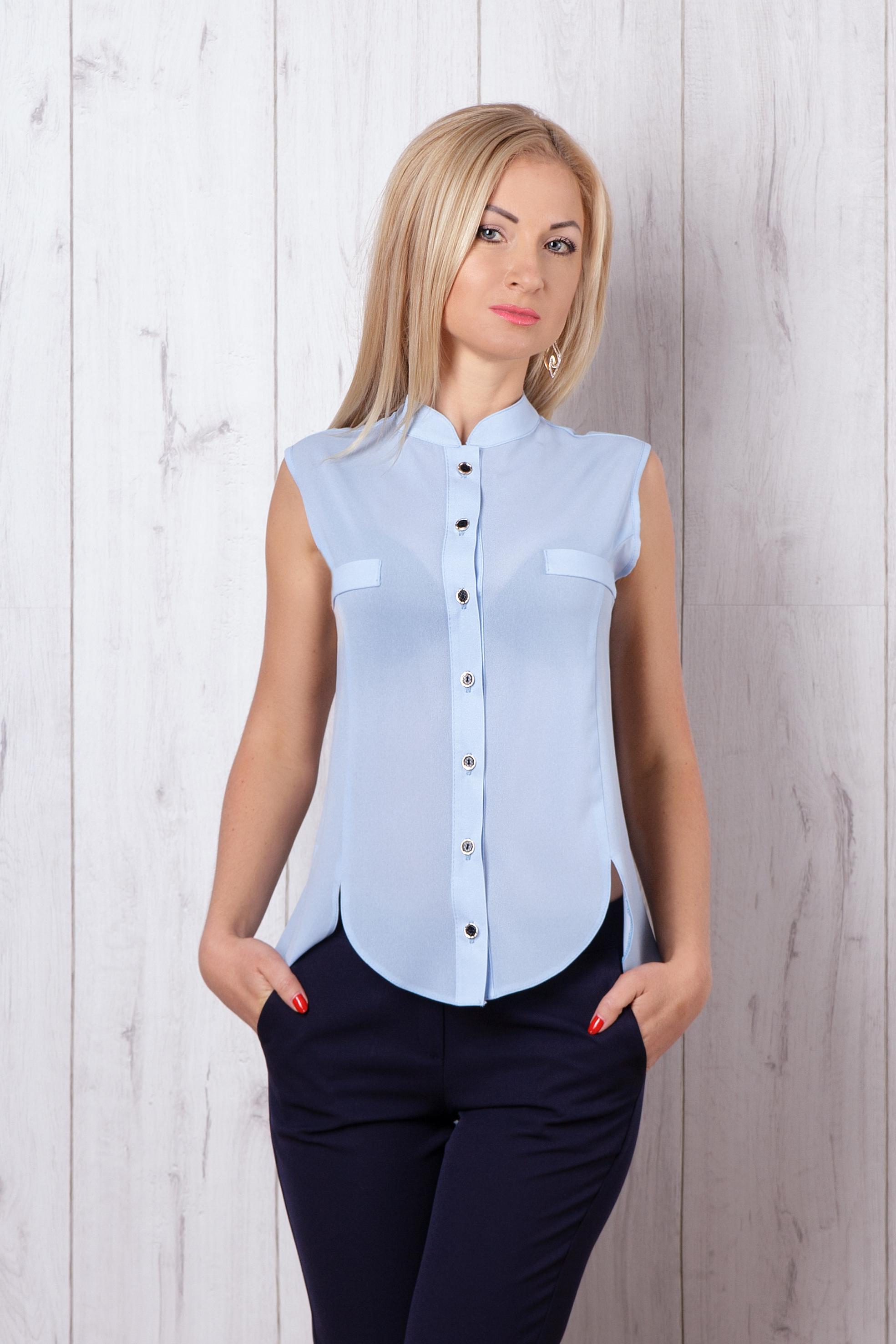 Женская блуза без рукавов 372 - Фотогалерея стильного одягу - Купити ... 1ba7ef45a64d0