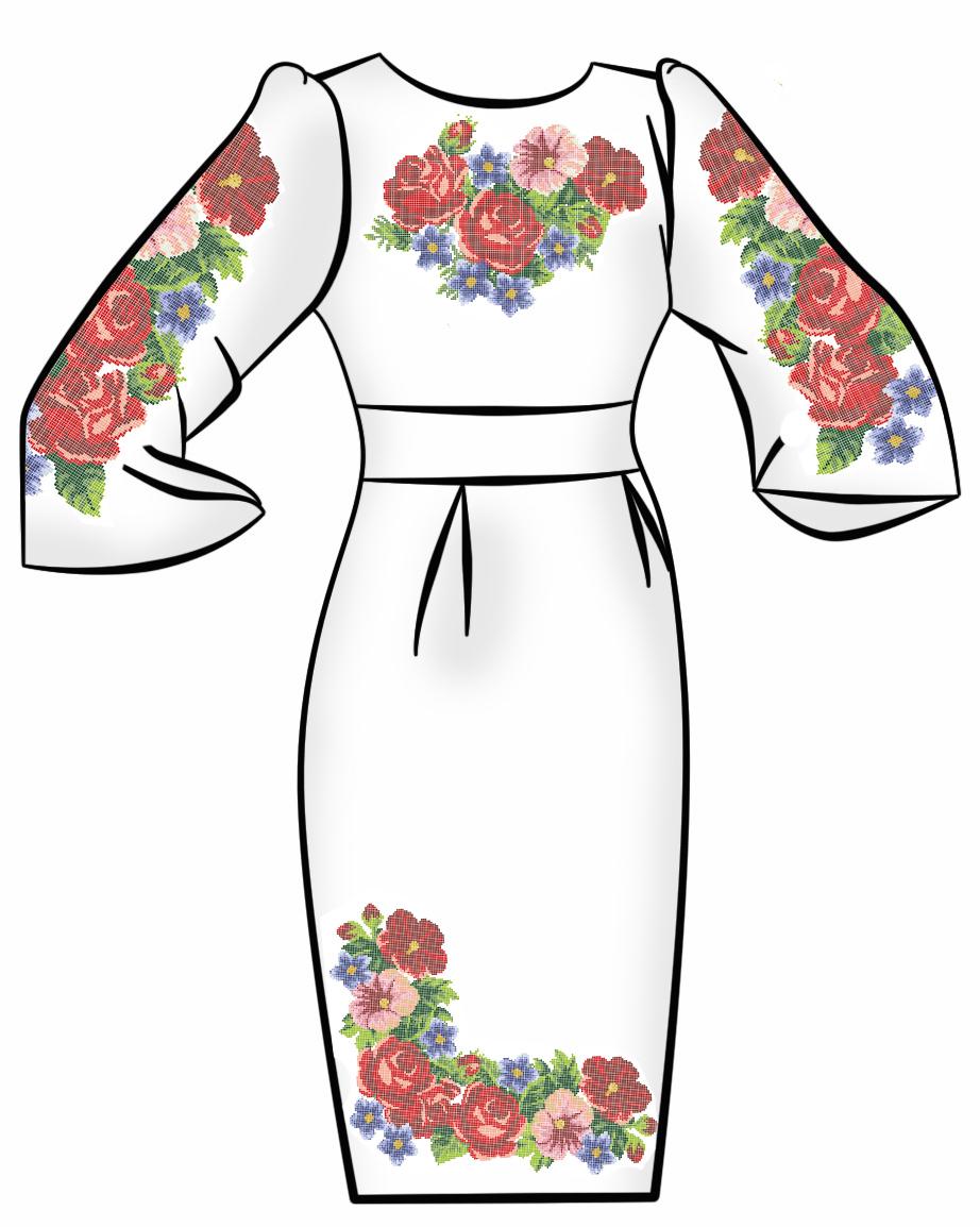 Заготовка Для Вышивки Платья Купить В