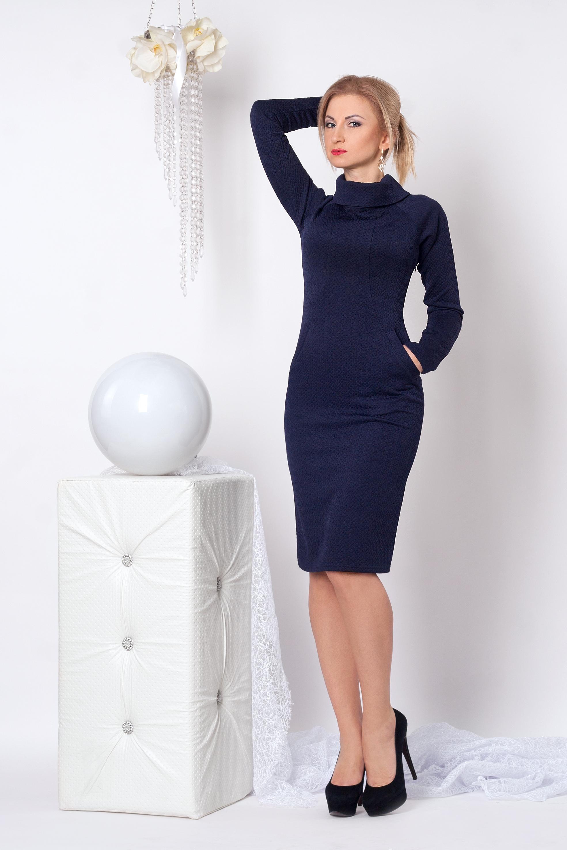 Повседневное женское платье 965 - Фотогалерея стильной одежды ... ff7b1cd3e57e7