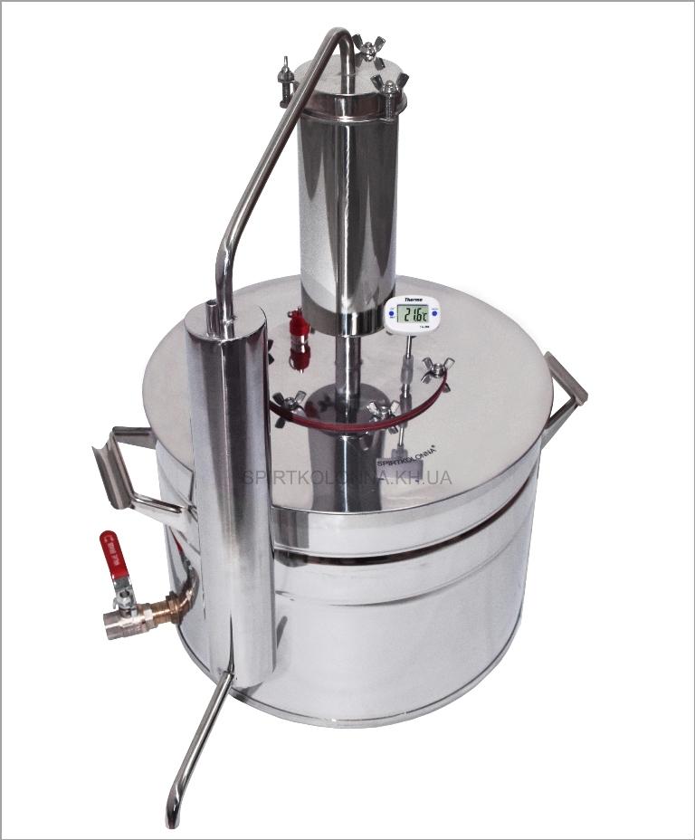 Самогонный аппарат производства спирта охладитель для самогонного аппарата электрический