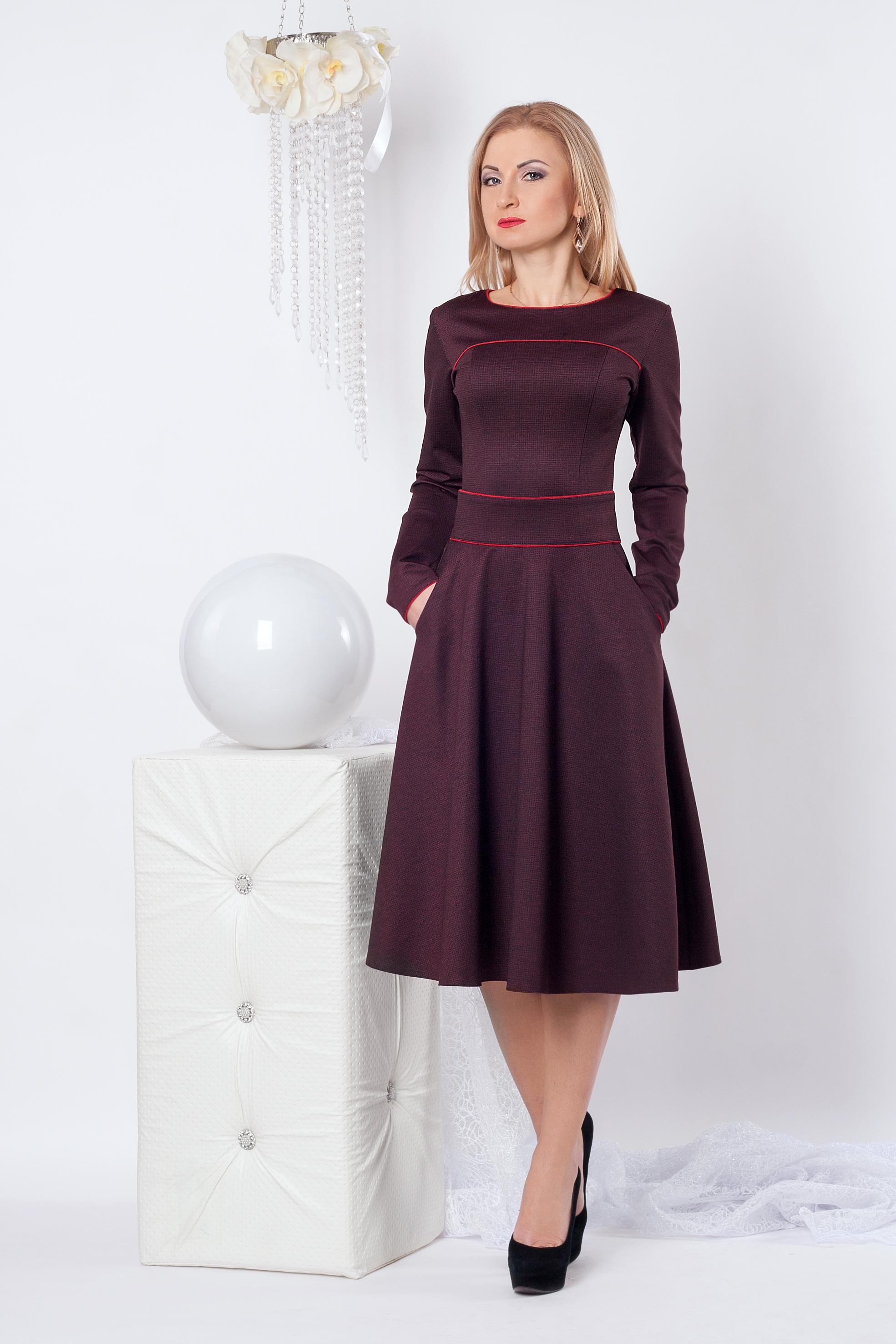 Повседневное женское платье 951 - Фотогалерея стильной одежды ... f08d8bdee7332
