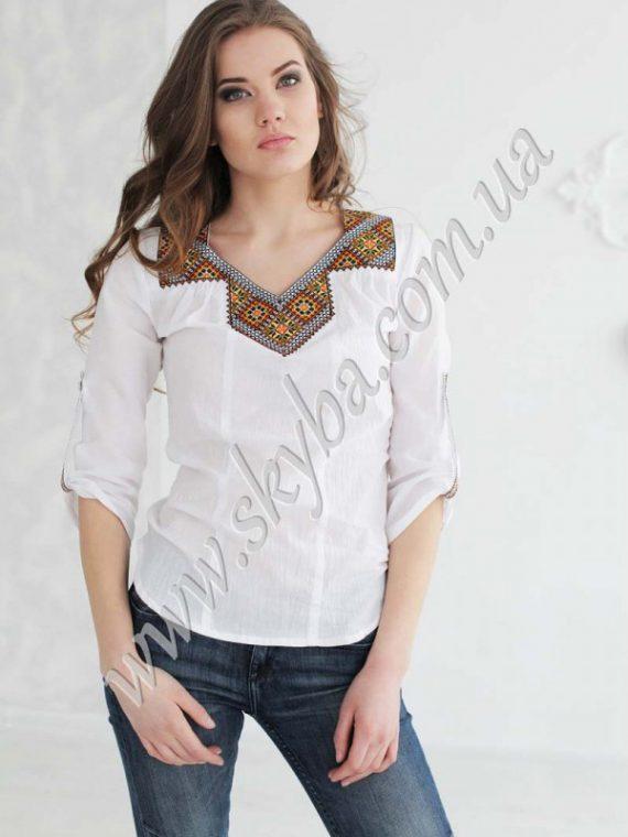 Вышитые Женские Блузки Фото