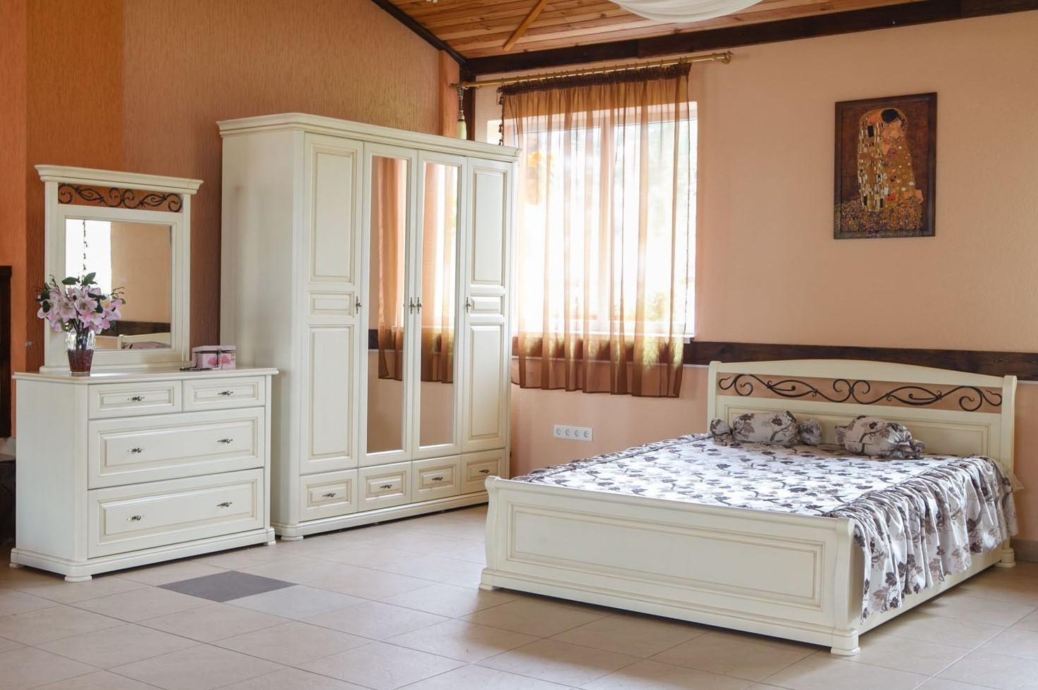 Спальня Виктория Явир - Фотогалерея - Skyin  кухні з масиву дерева ... 0918f6e04152d