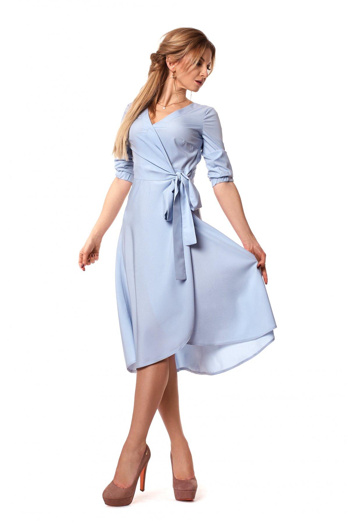 Женское красивое платье на запах (фото) - Фотогалерея стильной ... 35cf4e1d4a844