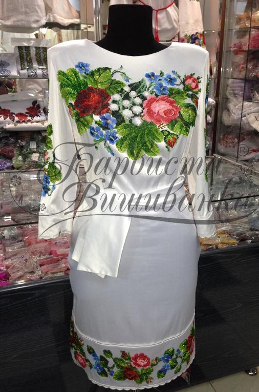 Сукня вишита купити ціна (фото) - Фотогалерея - Барвиста Вишиванка ... d9bfd7c23a53d