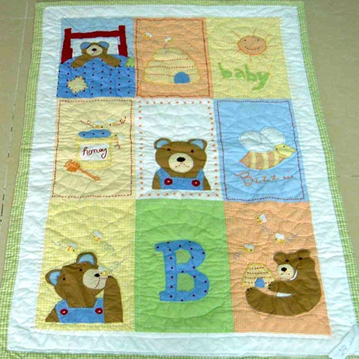 Сшить одеяло для ребенка своими руками 12