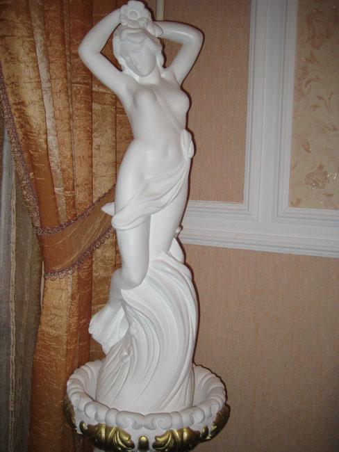 Скульптуры с гипса своими руками видео