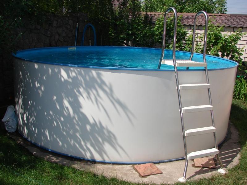 Как своими руками сделать площадку под бассейн 18