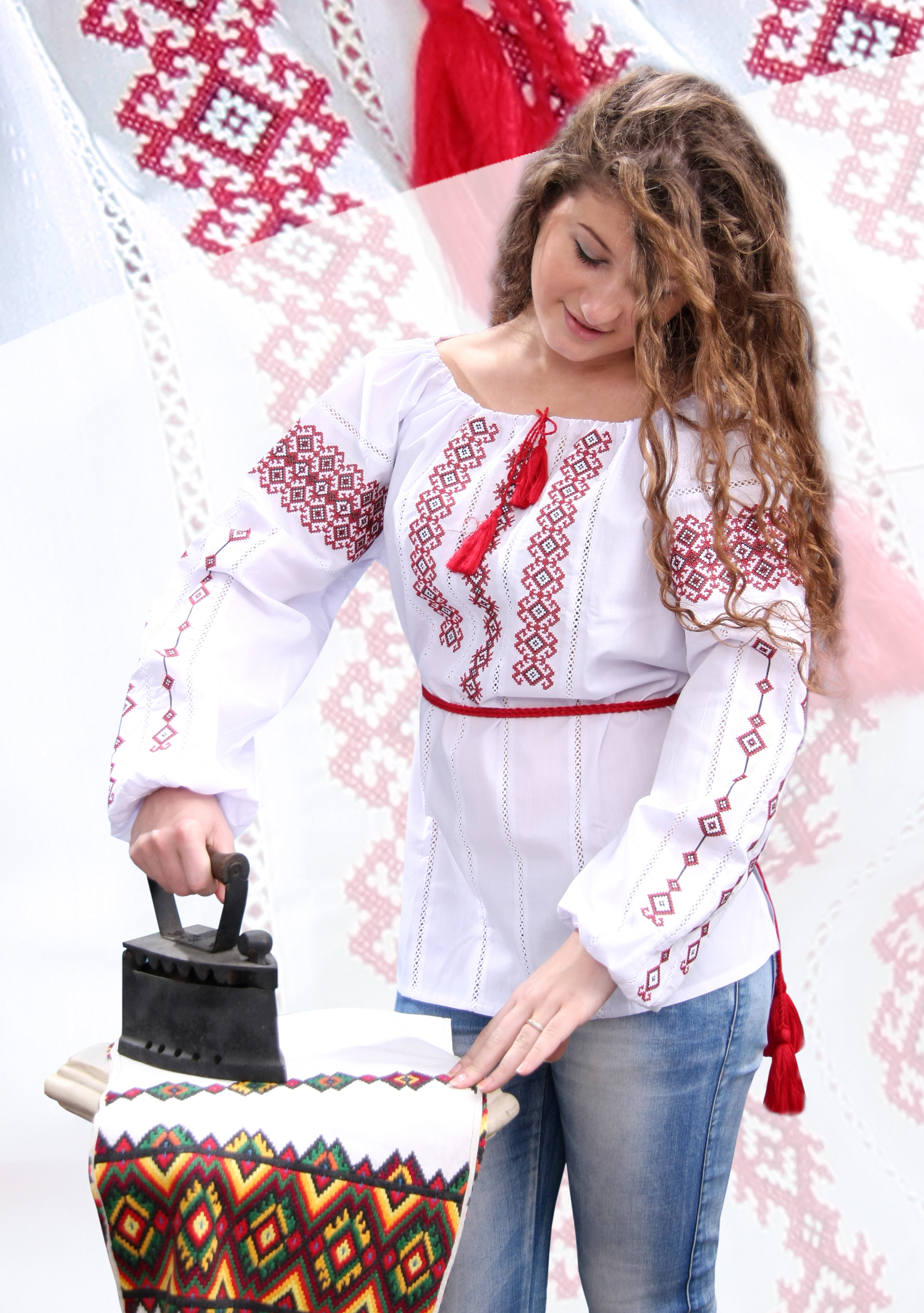 Купить Вышитую Блузку В Новосибирске