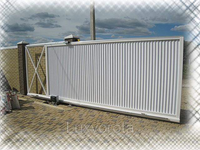 Купить ворота автоматические харьков дачные ворота со съемной планкой