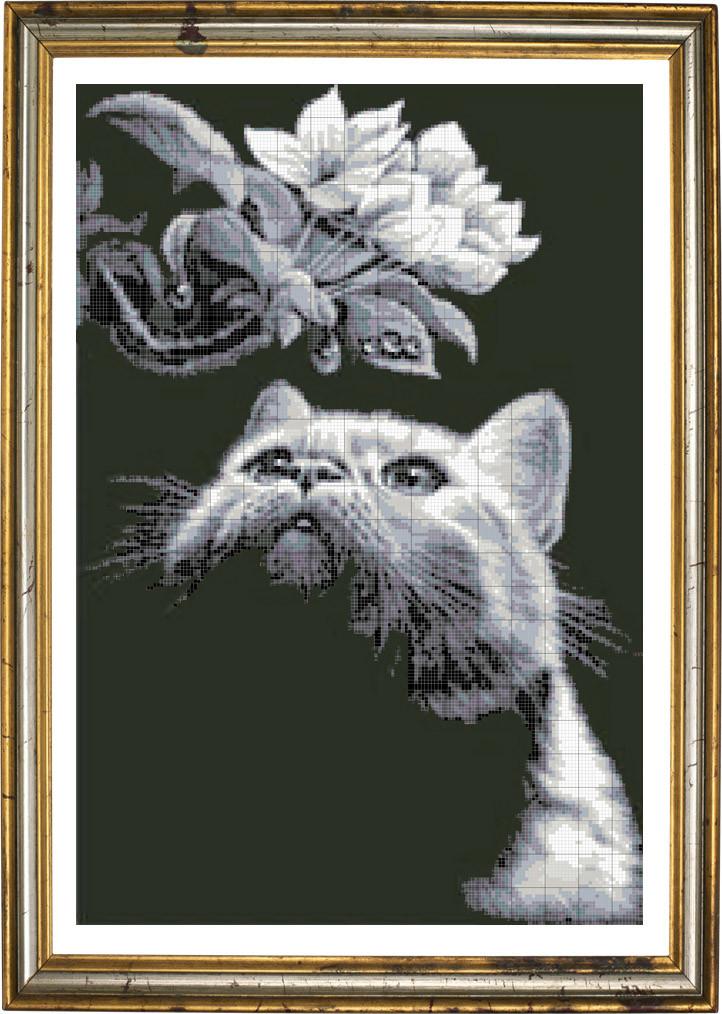 Картины вышивка бисером животные