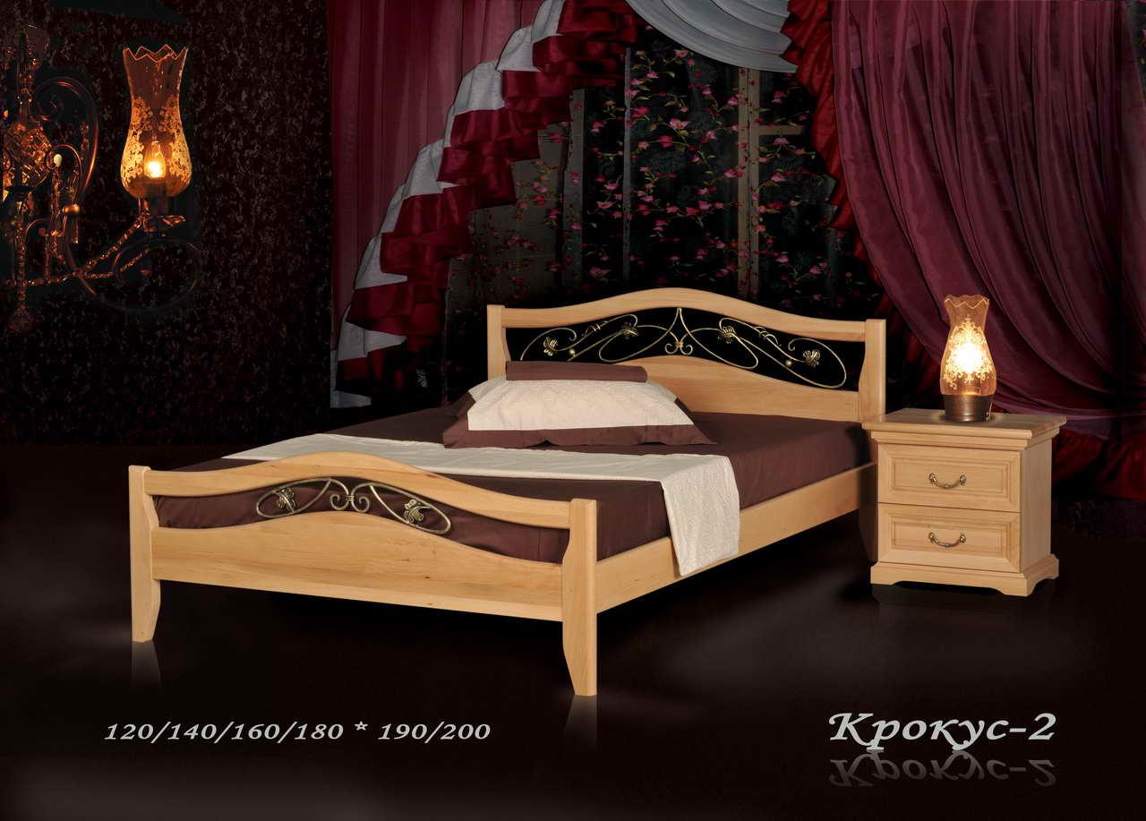 Кровать из массива дерева Крокус. Кровати деревянные 973a7a811d286