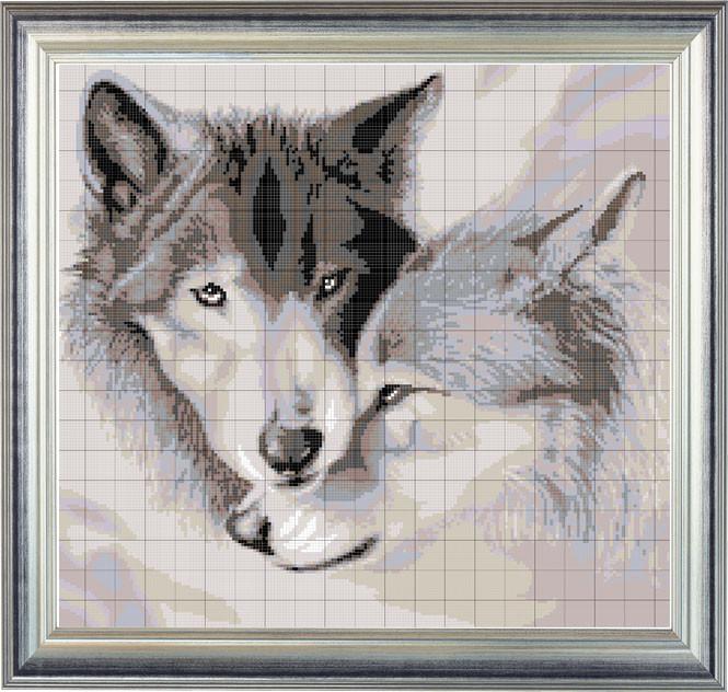 Вышивка бисером картины, схема