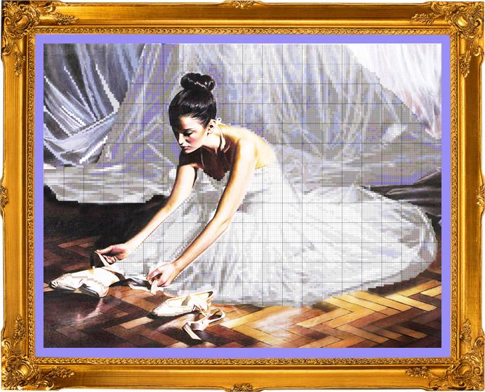 Балерина и пуанты