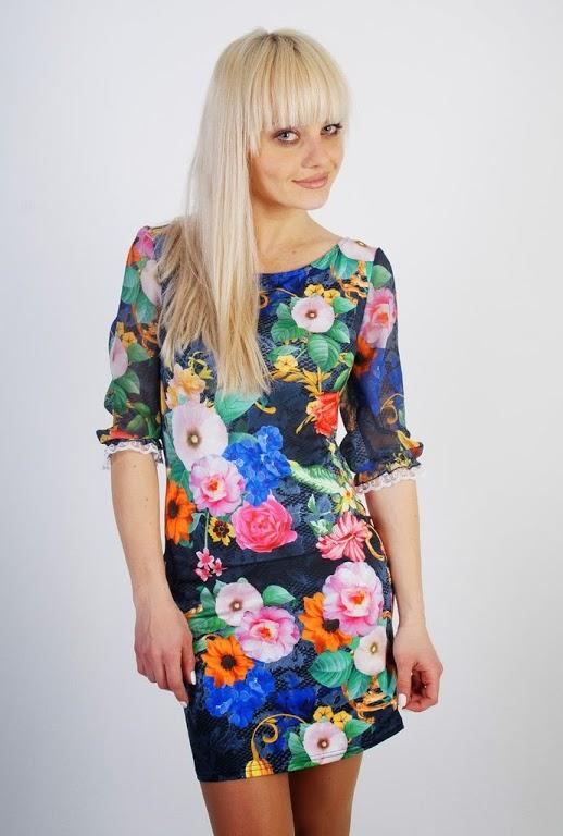 c9a828cae363d8 Платья с цветочным принтом оптом купить / Плаття з квітковим принтом оптом  купити